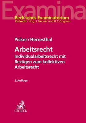 Picker / Herresthal | Arbeitsrecht | Buch | sack.de