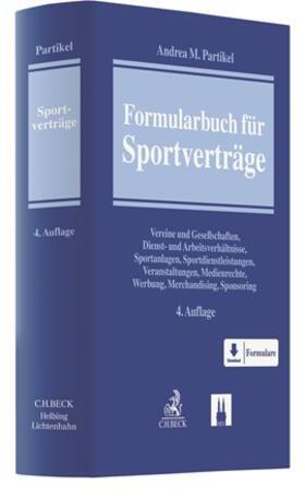 Partikel | Formularbuch für Sportverträge | Buch | sack.de