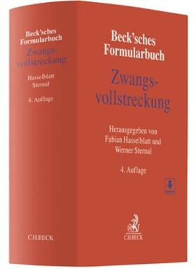 Hasselblatt / Sternal | Beck'sches Formularbuch Zwangsvollstreckung | Buch | sack.de