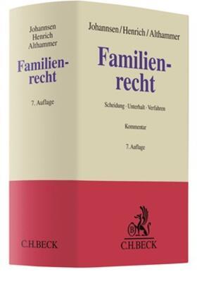 Johannsen / Henrich / Althammer | Familienrecht | Buch | sack.de