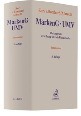 Kur / Bomhard / Albrecht | MarkenG - UMV | Buch | sack.de