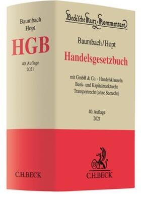 Baumbach/Hopt | Handelsgesetzbuch: HGB | Buch | sack.de