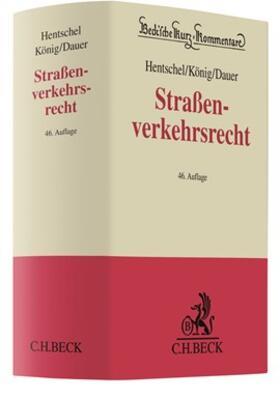 Hentschel / König / Dauer | Straßenverkehrsrecht | Buch | sack.de