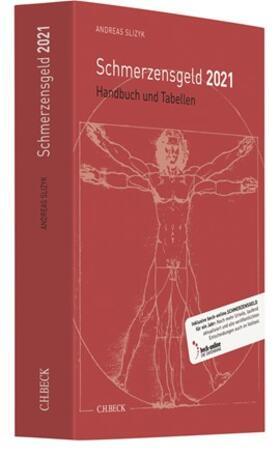 Slizyk | Schmerzensgeld 2021 | Buch | sack.de
