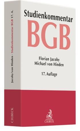 Jacoby / Hinden   BGB: Bürgerliches Gesetzbuch   Buch   sack.de