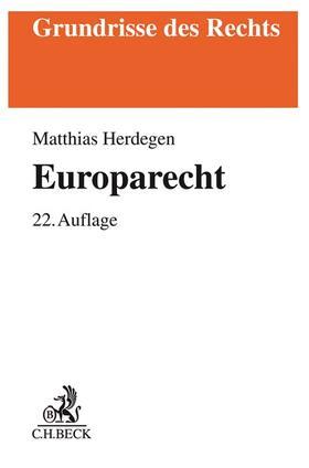 Herdegen   Europarecht   Buch   sack.de