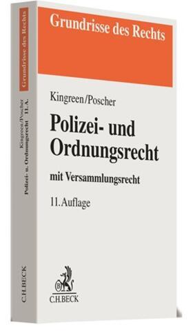 Kingreen / Poscher | Polizei- und Ordnungsrecht | Buch | sack.de