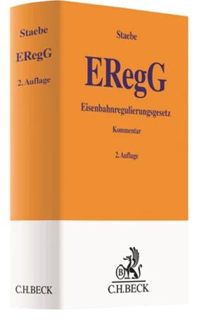 Staebe   Eisenbahnregulierungsgesetz (ERegG)   Buch   sack.de