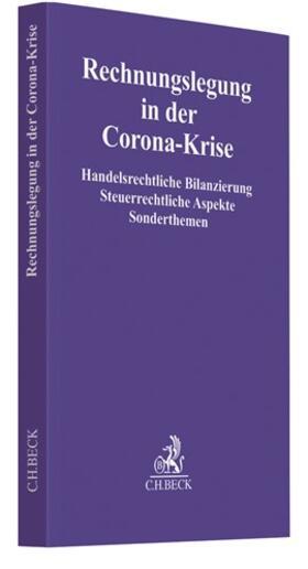 Rechnungslegung in der Corona-Krise | Buch | sack.de