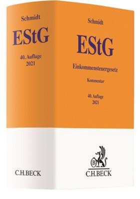 Schmidt / Weber-Grellet | Einkommensteuergesetz: EStG | Buch | sack.de