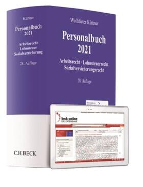 Küttner | Personalbuch 2021 | Buch | sack.de