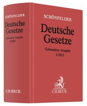 Schönfelder   Deutsche Gesetze    Buch   sack.de