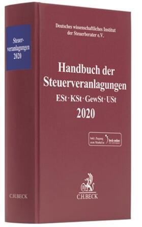 | Handbuch der Steuerveranlagungen 2020 | Buch | sack.de