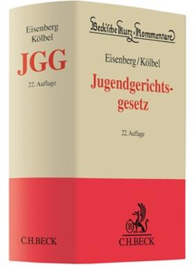 Eisenberg / Kölbel   Jugendgerichtsgesetz: JGG   Buch   sack.de