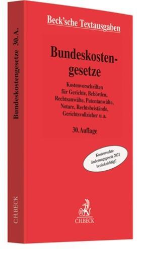 Bundeskostengesetze   Buch   sack.de