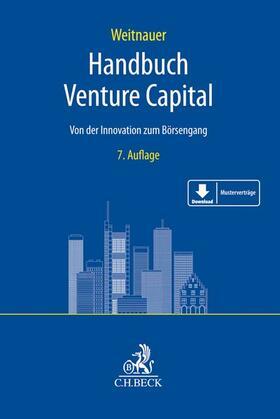 Weitnauer   Handbuch Venture Capital   Buch   sack.de