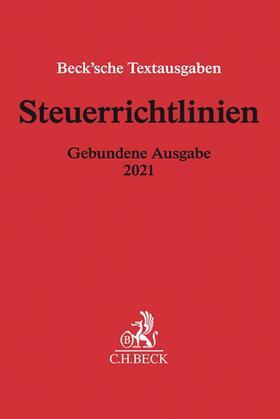 Steuerrichtlinien Gebundene Ausgabe 2021 | Buch | sack.de