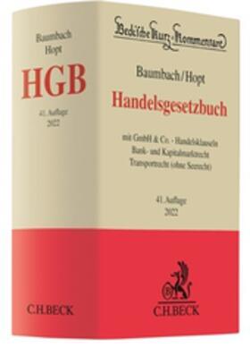 Hopt (vormals Baumbach / Hopt)   Handelsgesetzbuch: HGB   Buch   sack.de
