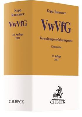 Kopp / Ramsauer | Verwaltungsverfahrensgesetz: VwVfG | Buch | sack.de