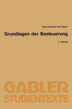 Bauer | Grundlagen der Besteuerung | Buch