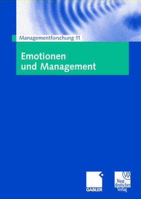 Schreyögg / Sydow   Emotionen und Management   Buch   sack.de