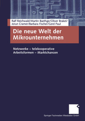 Baethge / Brakel / Cramer | Die neue Welt der Mikrounternehmen | Buch | sack.de