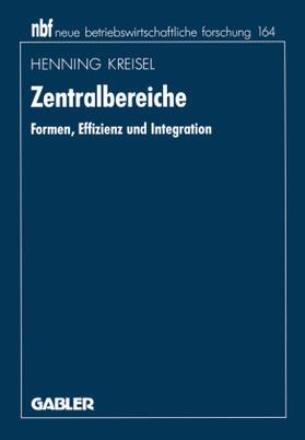 Kreisel | Zentralbereiche | Buch | sack.de