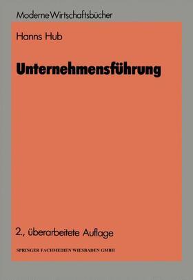 Hub | Unternehmensführung | Buch | sack.de