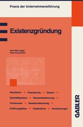 Gronemeier | Existenzgründung | Buch | sack.de