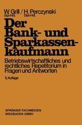 Perczynski / Grill    Der Bank- und Sparkassenkaufmann   Buch    Sack Fachmedien