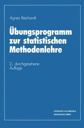 Reichardt | Übungsprogramm zur statistischen Methodenlehre | Buch | sack.de