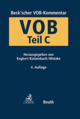 Englert / Katzenbach / Motzke | Beck'scher VOB- und Vergaberechts-Kommentar | Buch | sack.de