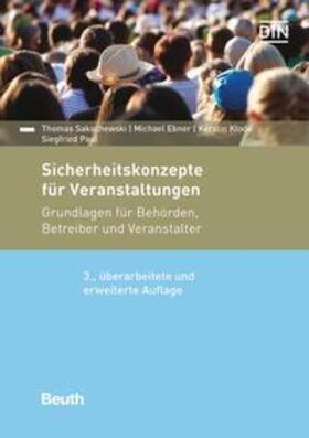 Ebner / Klode / Paul | Sicherheitskonzepte für Veranstaltungen - Buch mit E-Book | Buch | sack.de