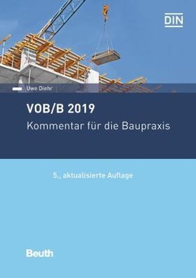 Diehr / Diehr   VOB/B 2019   Buch   sack.de