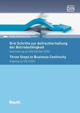 Herdmann / Midler / Herdmann   Drei Schritte zur Aufrechterhaltung der Betriebsfähigkeit   Buch   sack.de