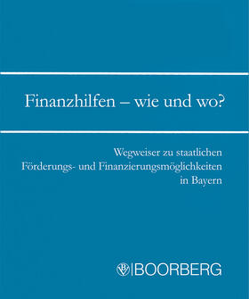 Gruber   Finanzhilfen - wie und wo?   Loseblattwerk   sack.de