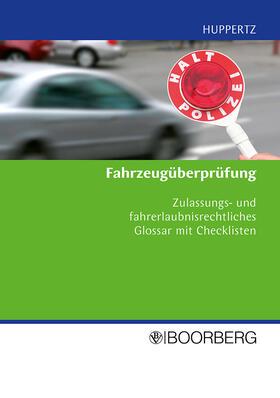 Huppertz | Fahrzeugüberprüfung | Buch | sack.de