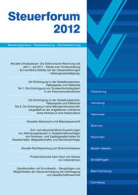 Strahl / Fuhrmann | Steuerforum 2012 | Buch | sack.de