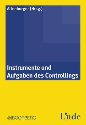 Altenburger | Instrumente und Aufgaben des Controllings | Buch | sack.de