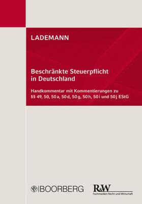 Stöber / Anissimov / Boochs | LADEMANN, Beschränkte Steuerpflicht in Deutschland | Buch | sack.de