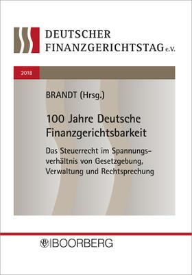Brandt | 15. Deutscher Finanzgerichtstag 2018; . | Buch | sack.de