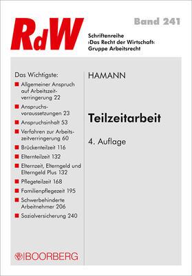 Hamann   Teilzeitarbeit   Buch   sack.de