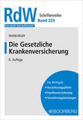 Marburger |  Die Gesetzliche Krankenversicherung | Buch |  Sack Fachmedien