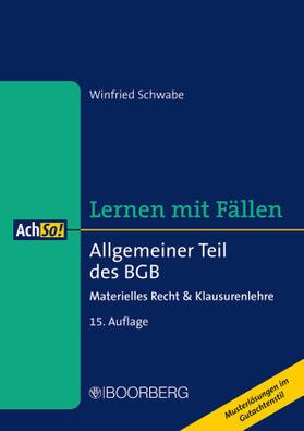 Schwabe | Allgemeiner Teil des BGB | Buch | sack.de