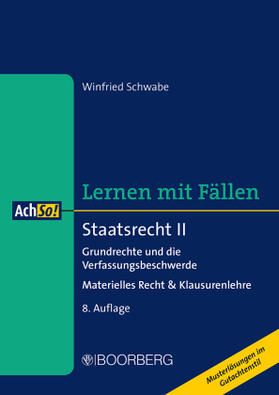 Schwabe | Schwabe, W: Staatsrecht II | Buch | sack.de