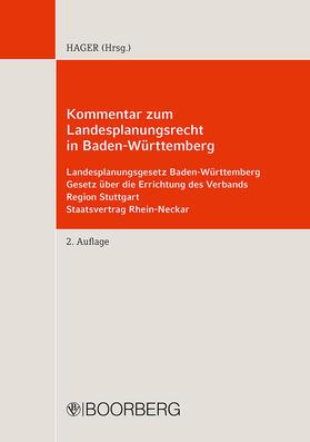 Hager / Herrmann / Kirchberg | Kommentar zum Landesplanungsrecht in Baden-Württemberg | Buch | sack.de