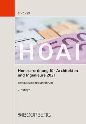 Lindner | HOAI | Buch | sack.de