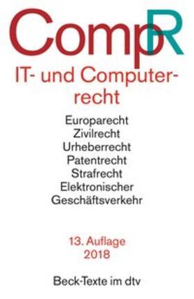 IT- und Computerrecht: CompR | Buch | Sack Fachmedien