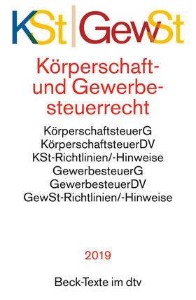 Körperschaftsteuerrecht / Gewerbesteuerrecht: KSt GewSt   Buch