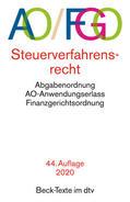 Steuerverfahrensrecht (AO/FGO) mit Abgabenordnung, Finanzgerichtsordnung und Nebengesetzen | Sack Fachmedien